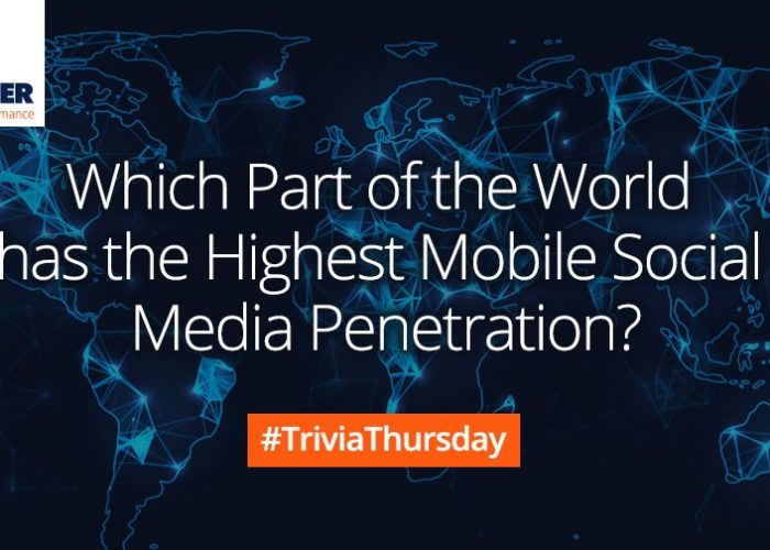 mobile social media penetration Trivia Thursday