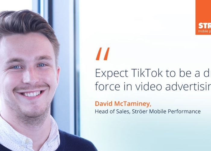 tiktok advertising ströer mobile performance david mctaminey