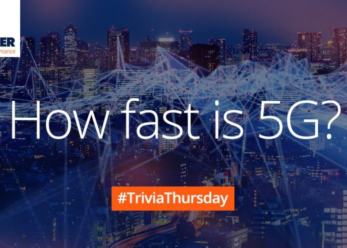 Trivia Thursday 5G Speed