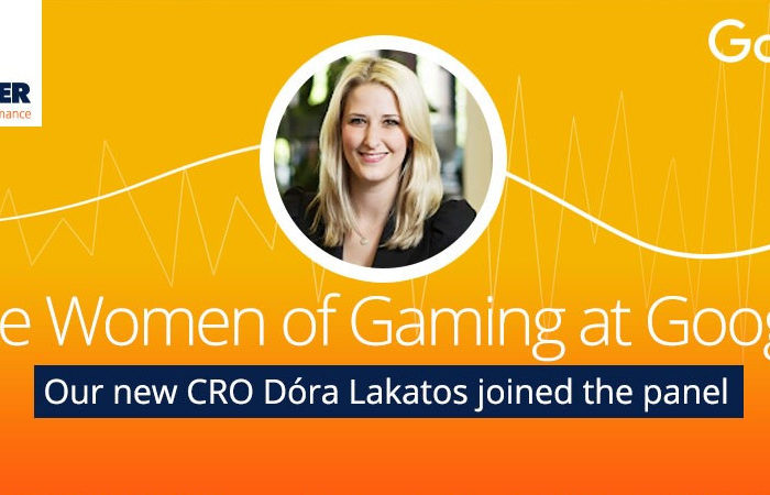 Google Women on Gaming Dora Lakatos